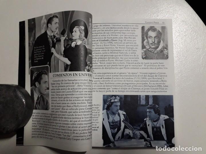 Libros: TITANES DEL HORROR! - VINCENT PRICE! - COLECCIÓN BREVIARIOS DE CINEFANIA Nº 4 - ARGENTINA - Foto 3 - 155737982