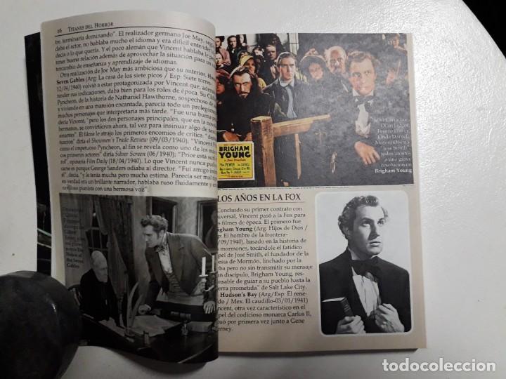 Libros: TITANES DEL HORROR! - VINCENT PRICE! - COLECCIÓN BREVIARIOS DE CINEFANIA Nº 4 - ARGENTINA - Foto 4 - 155737982