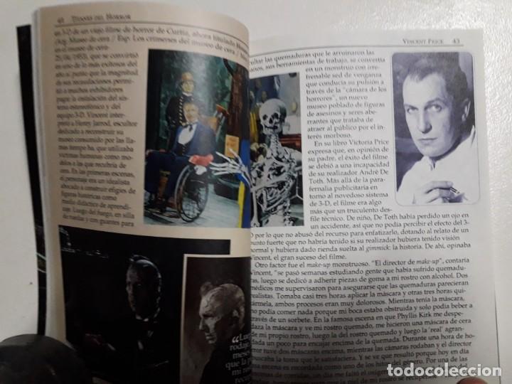 Libros: TITANES DEL HORROR! - VINCENT PRICE! - COLECCIÓN BREVIARIOS DE CINEFANIA Nº 4 - ARGENTINA - Foto 5 - 155737982