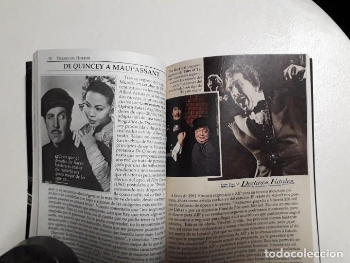 Libros: TITANES DEL HORROR! - VINCENT PRICE! - COLECCIÓN BREVIARIOS DE CINEFANIA Nº 4 - ARGENTINA - Foto 8 - 155737982