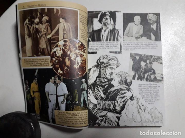 Libros: TITANES DEL HORROR! - BORIS KARLOFF - ESPECTACULAR COLECCIÓN BREVIARIOS DE CINEFANIA - ARGENTINA - Foto 3 - 204485511