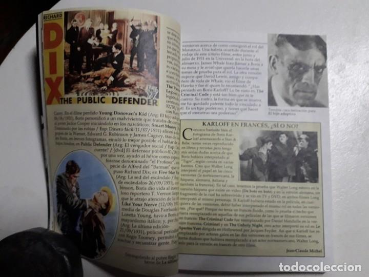 Libros: TITANES DEL HORROR! - BORIS KARLOFF - ESPECTACULAR COLECCIÓN BREVIARIOS DE CINEFANIA - ARGENTINA - Foto 5 - 204485511