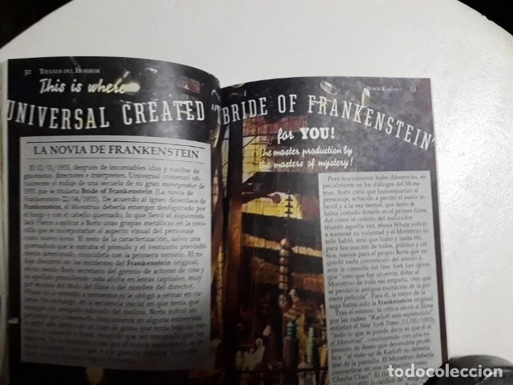 Libros: TITANES DEL HORROR! - BORIS KARLOFF - ESPECTACULAR COLECCIÓN BREVIARIOS DE CINEFANIA - ARGENTINA - Foto 7 - 204485511