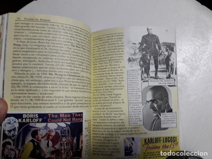 Libros: TITANES DEL HORROR! - BORIS KARLOFF - ESPECTACULAR COLECCIÓN BREVIARIOS DE CINEFANIA - ARGENTINA - Foto 8 - 204485511