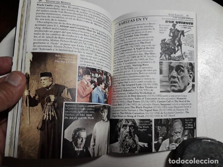 Libros: TITANES DEL HORROR! - BORIS KARLOFF - ESPECTACULAR COLECCIÓN BREVIARIOS DE CINEFANIA - ARGENTINA - Foto 9 - 204485511
