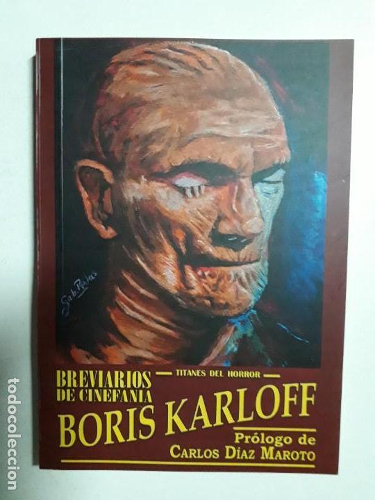 TITANES DEL HORROR! - BORIS KARLOFF - ESPECTACULAR COLECCIÓN BREVIARIOS DE CINEFANIA - ARGENTINA (Libros Nuevos - Literatura - Narrativa - Terror)