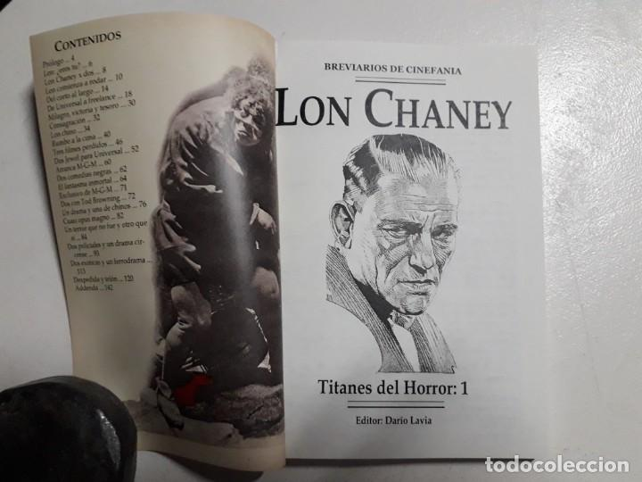 Libros: TITANES DEL HORROR! - LON CHANEY - ESPECTACULAR COLECCIÓN BREVIARIOS DE CINEFANIA - ARGENTINA - Foto 2 - 204485501
