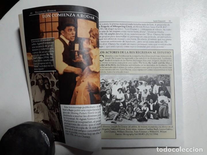 Libros: TITANES DEL HORROR! - LON CHANEY - ESPECTACULAR COLECCIÓN BREVIARIOS DE CINEFANIA - ARGENTINA - Foto 3 - 204485501