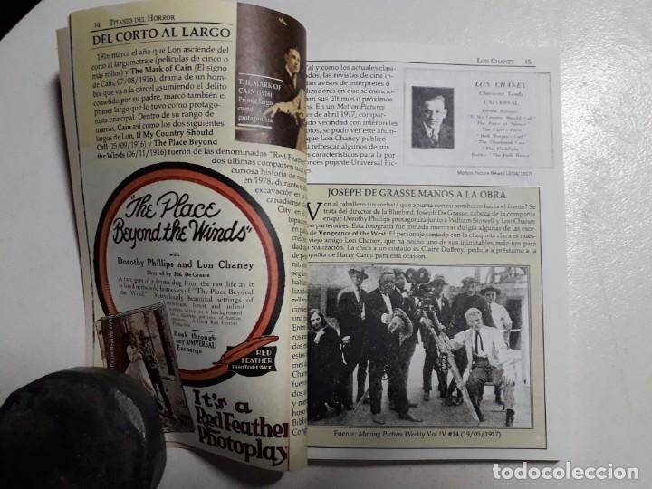 Libros: TITANES DEL HORROR! - LON CHANEY - ESPECTACULAR COLECCIÓN BREVIARIOS DE CINEFANIA - ARGENTINA - Foto 4 - 204485501