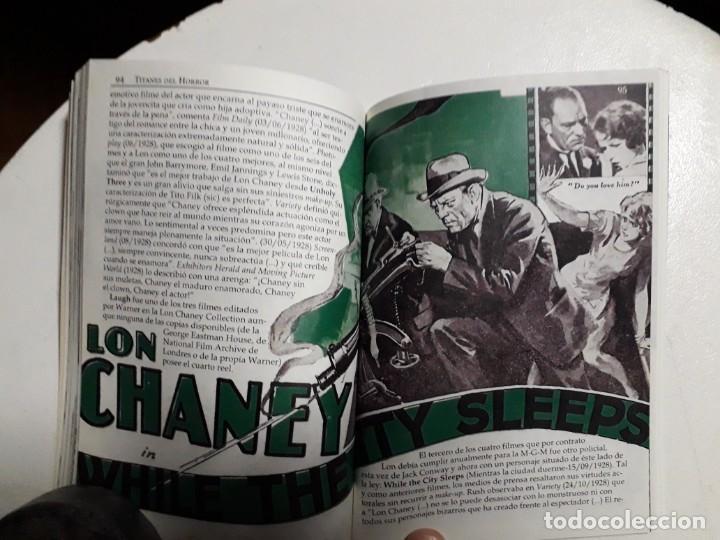 Libros: TITANES DEL HORROR! - LON CHANEY - ESPECTACULAR COLECCIÓN BREVIARIOS DE CINEFANIA - ARGENTINA - Foto 7 - 204485501