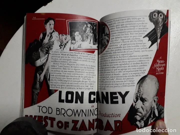 Libros: TITANES DEL HORROR! - LON CHANEY - ESPECTACULAR COLECCIÓN BREVIARIOS DE CINEFANIA - ARGENTINA - Foto 8 - 204485501