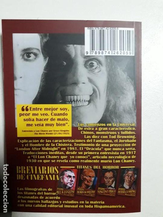 Libros: TITANES DEL HORROR! - LON CHANEY - ESPECTACULAR COLECCIÓN BREVIARIOS DE CINEFANIA - ARGENTINA - Foto 9 - 204485501