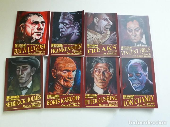 Libros: TITANES DEL HORROR! - LON CHANEY - ESPECTACULAR COLECCIÓN BREVIARIOS DE CINEFANIA - ARGENTINA - Foto 10 - 204485501