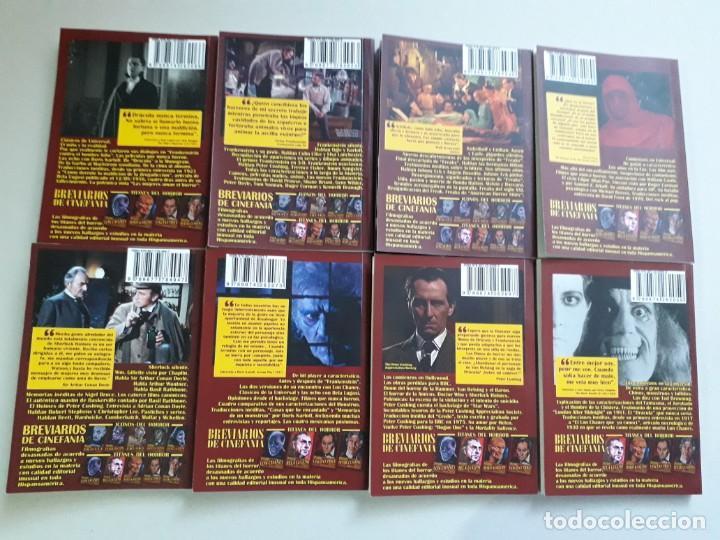 Libros: TITANES DEL HORROR! - LON CHANEY - ESPECTACULAR COLECCIÓN BREVIARIOS DE CINEFANIA - ARGENTINA - Foto 11 - 204485501