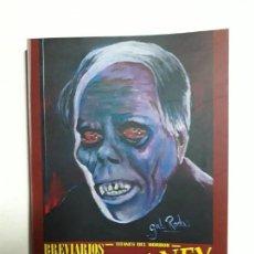 Libros: TITANES DEL HORROR! - LON CHANEY - ESPECTACULAR COLECCIÓN BREVIARIOS DE CINEFANIA - ARGENTINA. Lote 204485501