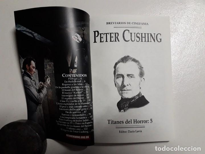 Libros: PETER CUSHING - TITANES DEL HORROR! - ESPECTACULAR COLECCIÓN BREVIARIOS DE CINEFANIA - ARGENTINA - Foto 2 - 204485322
