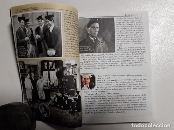 Libros: PETER CUSHING - TITANES DEL HORROR! - ESPECTACULAR COLECCIÓN BREVIARIOS DE CINEFANIA - ARGENTINA - Foto 3 - 204485322