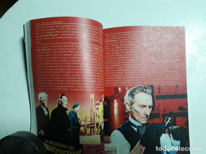 Libros: PETER CUSHING - TITANES DEL HORROR! - ESPECTACULAR COLECCIÓN BREVIARIOS DE CINEFANIA - ARGENTINA - Foto 5 - 204485322