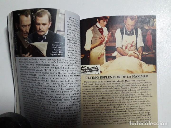 Libros: PETER CUSHING - TITANES DEL HORROR! - ESPECTACULAR COLECCIÓN BREVIARIOS DE CINEFANIA - ARGENTINA - Foto 6 - 204485322