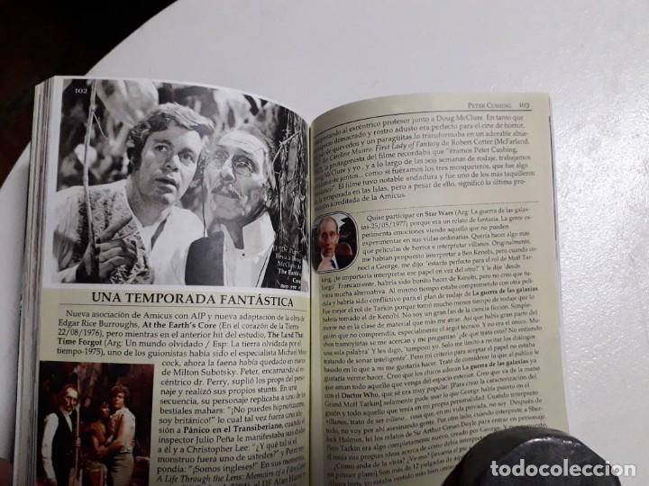 Libros: PETER CUSHING - TITANES DEL HORROR! - ESPECTACULAR COLECCIÓN BREVIARIOS DE CINEFANIA - ARGENTINA - Foto 7 - 204485322