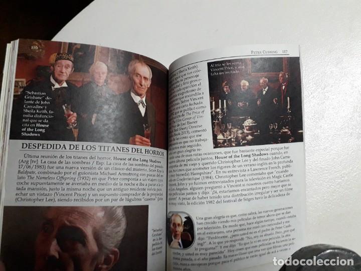 Libros: PETER CUSHING - TITANES DEL HORROR! - ESPECTACULAR COLECCIÓN BREVIARIOS DE CINEFANIA - ARGENTINA - Foto 8 - 204485322