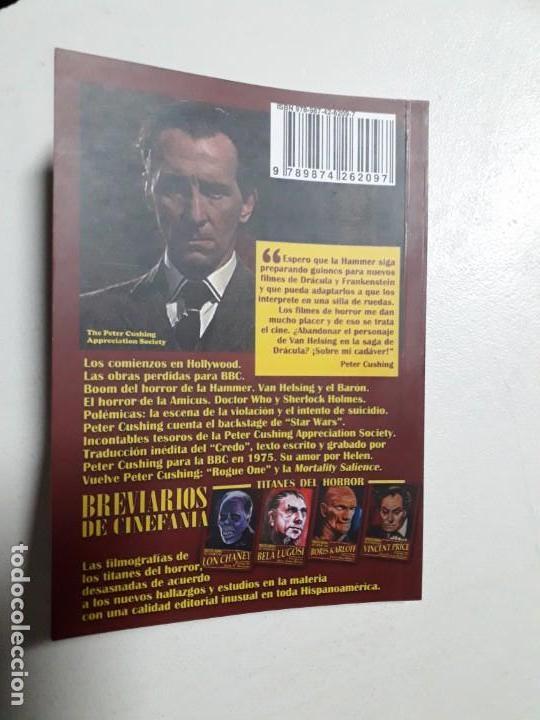 Libros: PETER CUSHING - TITANES DEL HORROR! - ESPECTACULAR COLECCIÓN BREVIARIOS DE CINEFANIA - ARGENTINA - Foto 9 - 204485322