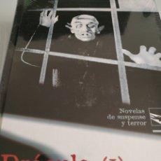 Libros: DRÁCULA 2 VOLUMENES BRAM STOKER NUEVO TAPA DURA EDICIONES RUEDA. Lote 164737441