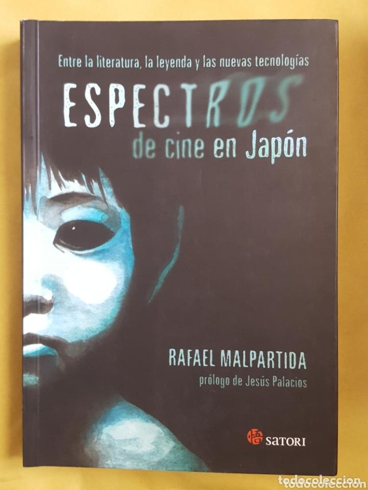 ESPECTROS DE CINE EN JAPON - RAFAEL MALPARTIDA (Libros Nuevos - Literatura - Narrativa - Terror)
