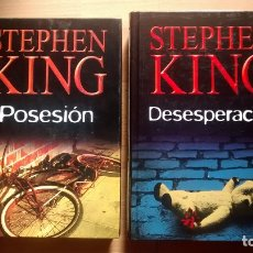 Libros: POSESION Y DESESPERACION DE STEPHEN KING EN TAPA DURA - POSIBILIDAD ENTREGA EN MANO EN MADRID. Lote 177375450
