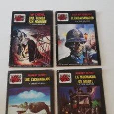 Libros: COLECCIÓN COMPLETA LIBROS TERROR FANTASY 1 2 3 Y 4. Lote 177655037