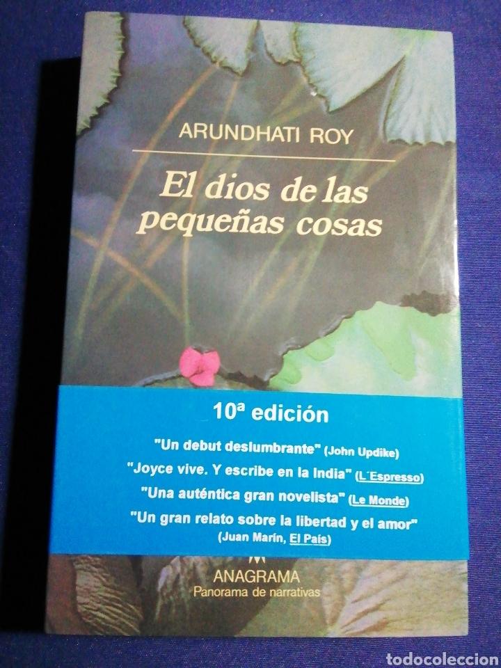 EL DIOS DE LAS PEQUEÑAS COSAS. ARUNDHATI ROY. NUEVO (Libros Nuevos - Literatura - Narrativa - Terror)