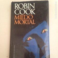 Libros: MIEDO MORTAL. Lote 181090816
