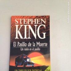 Libros: EL PASILLO DE LA MUERTE DE STEPHEN KING. Lote 181145778