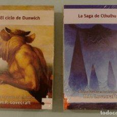 Libros: LA SAGA DE CTHULHU Y EL CICLO DE DUNWITCH RELATOS BASADOS EN MUNDOS HP LOVECRAFT. Lote 185749356