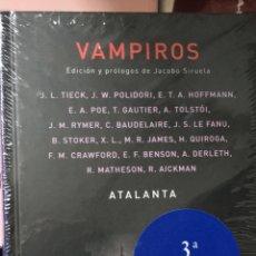Libros: VAMPIROS. EDICIÓN JACOBO SIRUELA. VARIOS AUTORES.. Lote 189940641