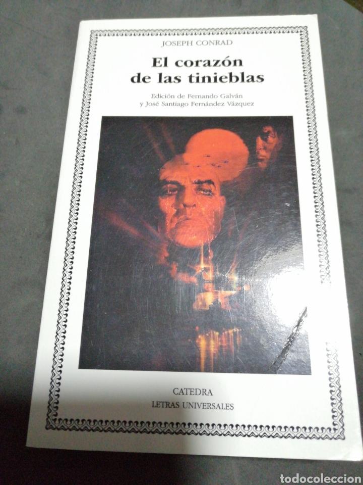 EL CORAZÓN DE LAS TINIEBLAS., JOSEPH CONRAD (Libros Nuevos - Literatura - Narrativa - Terror)