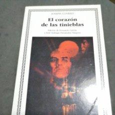 Libros: EL CORAZÓN DE LAS TINIEBLAS., JOSEPH CONRAD. Lote 190627587