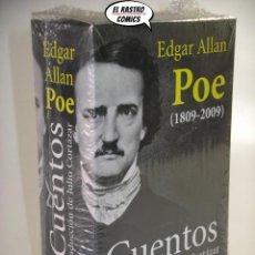 Libros: CUENTOS, (1809 - 2009) EDGAR ALLAN POE, TOMO 1 Y 2, OBRA COMPLETA, ALIANZA EDITORIAL AÑO 2009, C4. Lote 190869833