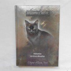 Libros: HISTORIAS EXTRAORDINARIAS - EDGAR ALAN POE - RELATOS DE MISTERIO Y TERROR - NUEVO. Lote 193064477