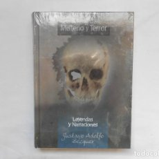 Libros: LEYENDAS Y NARRACIONES- GUSTAVO ADOLFO BECQER - RELATOS DE MISTERIO Y TERROR - NUEVO. Lote 193064676