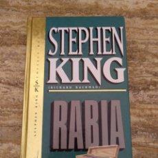 Libros: RABIA - STEPHEN KING (RICHARD BACHMAN) ORBIS FABRI. Lote 194923312