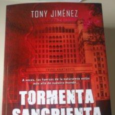 Libros: TORMENTA SANGRIENTA. Lote 201225238