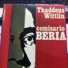 Libros: COMISARIO BERIA (THADDEUS WITTLIN). Lote 202401996