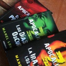 Libros: APOCALIPSIS Z MANUEL LOUREIRO COMPLETA BEST SELLER DEBOLSILLO. Lote 205035111