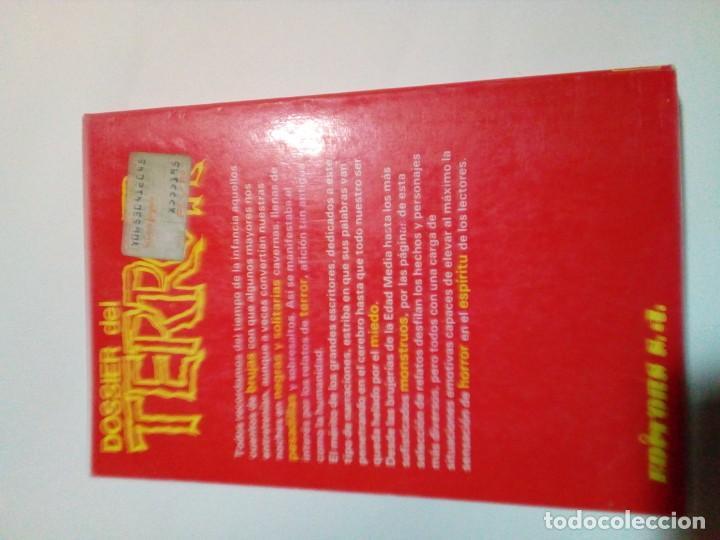 Libros: DOSSIER DEL TERROR 4 - Foto 4 - 207786482
