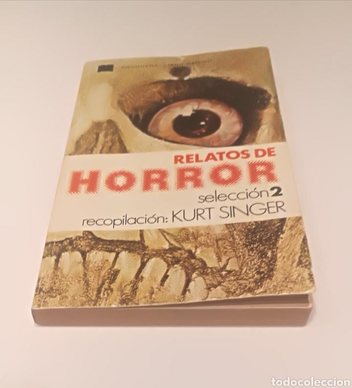 RELATOS DE HORROR : KURT SINGUER (Libros Nuevos - Literatura - Narrativa - Terror)