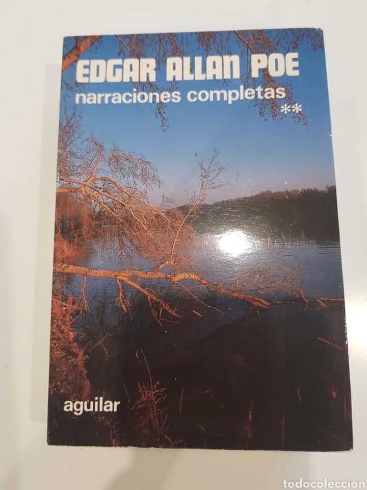 EDGAR ALLAN POE ,AGUILAR , 1980,NARRACIONES COMPLETAS (Libros Nuevos - Literatura - Narrativa - Terror)
