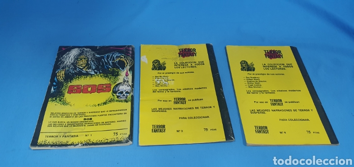 Libros: TERROR FANTASY - LAS MEJORES NARRACIONES DE TERROR Y SUSPENSE - NÚMEROS 1 -3 y 4 - Foto 2 - 212764553
