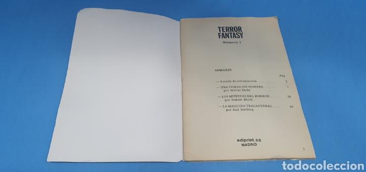 Libros: TERROR FANTASY - LAS MEJORES NARRACIONES DE TERROR Y SUSPENSE - NÚMEROS 1 -3 y 4 - Foto 3 - 212764553