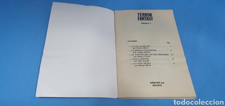 Libros: TERROR FANTASY - LAS MEJORES NARRACIONES DE TERROR Y SUSPENSE - NÚMEROS 1 -3 y 4 - Foto 6 - 212764553